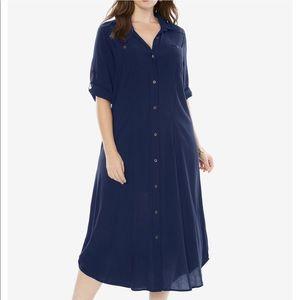💥🌺NWT🌺💥Safari Dress in Evening Blue